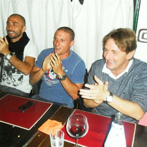 Beppe Signori, Diego Perez, Marco Divaio